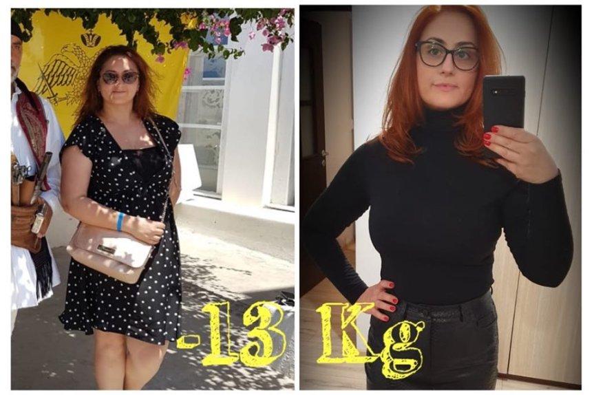 """""""Da, se poate!""""Roxana si cele 13 kg inminus"""
